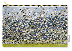 Goose Storm Carry-all Pouch by Mike Dawson