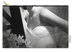 Grace Kelly Drawing Carry-all Pouch by Quim Abella
