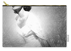 Grace Kelly Sketch Carry-all Pouch by Quim Abella