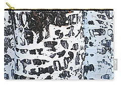 Graffitied Bark No. 1 Carry-all Pouch by Sandy Taylor