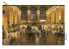 Grand Central Station Carry-all Pouch by Martin Newman