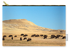 Great Plains Buffalo Carry-all Pouch by Todd Klassy