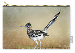 Greater Roadrunner 2 Carry-all Pouch by Betty LaRue