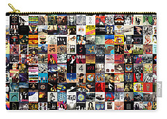 Greatest Album Covers Of All Time Carry-all Pouch by Taylan Soyturk