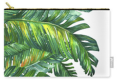 Green Tropic  Carry-all Pouch by Mark Ashkenazi