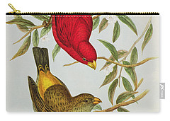 Haematospiza Sipahi Carry-all Pouch by John Gould
