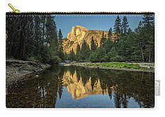 Half Dome From  The Merced Carry-all Pouch by Peter Tellone