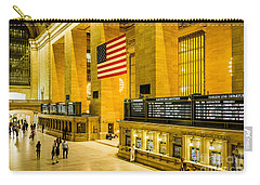 Carry-all Pouch featuring the photograph Grand Central Pride by M G Whittingham
