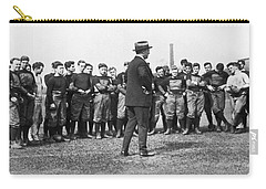 Harvard Football Practice Carry-all Pouch by Underwood Archives