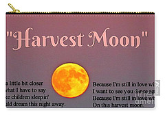 Harvest Moon Song Carry-all Pouch by John Malone