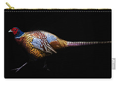 Have A Pheasant Day.. Carry-all Pouch by Martin Newman