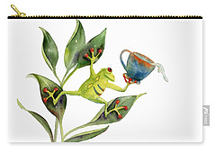He Frog Carry-all Pouch by Amy Kirkpatrick