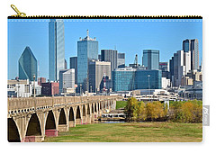 Heading To Dallas Carry-all Pouch by Frozen in Time Fine Art Photography