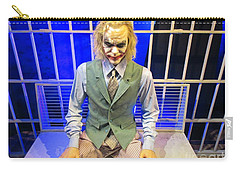 Heath Ledger As The Joker Carry-all Pouch by John Malone