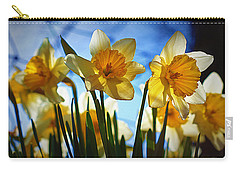 Hello Spring Carry-all Pouch by Cricket Hackmann