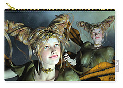 Here Comes Sunshine  Carry-all Pouch by Betsy Knapp
