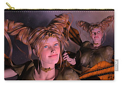 Here Comes Sunshine For Jerry  Carry-all Pouch by Betsy Knapp