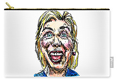 Hillary Carry-all Pouch by Robert Yaeger