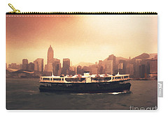 Hong Kong Harbour 01 Carry-all Pouch by Pixel  Chimp