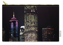 Hong Kong Skyline Carry-all Pouch by American School