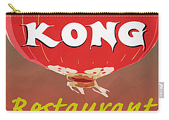Hong Kong Vintage Chinese Food Sign Carry-all Pouch by Edward Fielding