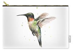 Hummingbird Carry-all Pouch by Olga Shvartsur