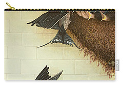 Hungry Mouths Carry-all Pouch by Pat Scott