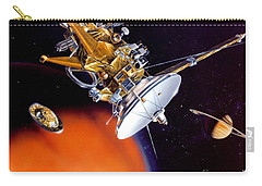 Huygens Probe Separating Carry-all Pouch by NASA and Photo Researchers