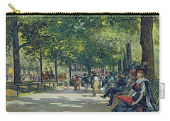 Hyde Park - London  Carry-all Pouch by Count Girolamo Pieri Nerli