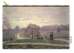 Hyde Park Carry-all Pouch by Claude Monet