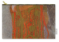 Hygieia Carry-all Pouch by Gustav Klimt