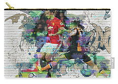 Ibrahimovic Street Art Carry-all Pouch by Don Kuing