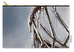 Icy Hoops Carry-all Pouch by Nadine Rippelmeyer