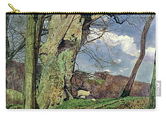 In Early Spring Carry-all Pouch by John William Inchbold