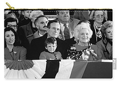 Inauguration Of George Bush Sr Carry-all Pouch by H. Armstrong Roberts/ClassicStock