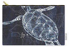 Indigo Verde Mar 2 Carry-all Pouch by Debbie DeWitt
