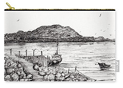 Iona From Mull Carry-all Pouch by Vincent Alexander Booth
