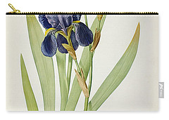 Iris Germanica Carry-all Pouch by Pierre Joseph Redoute