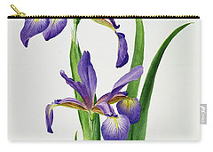 Iris Monspur Carry-all Pouch by Anonymous