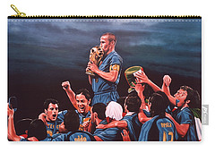 Italia The Blues Carry-all Pouch by Paul Meijering