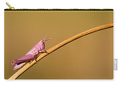 It's Not Easy Being Pink Carry-all Pouch by Roeselien Raimond