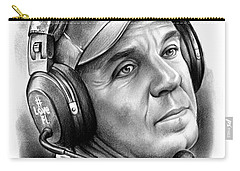 Jimbo Fisher Carry-all Pouch by Greg Joens