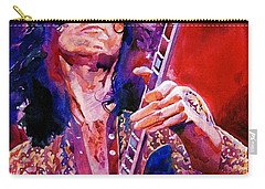 Jimmy Page Carry-all Pouch by David Lloyd Glover