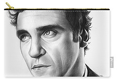 Joaquin Pheonix Carry-all Pouch by Greg Joens