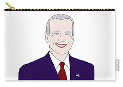 Joe Biden Carry-all Pouch by Priscilla Wolfe