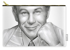 Johnny Carson Carry-all Pouch by Greg Joens