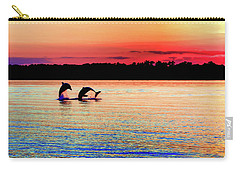 Joy Of The Dance Carry-all Pouch by Karen Wiles