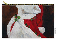 Joy To The World Carry-all Pouch by Mary Sparrow