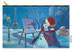 Joyeux Noel Carry-all Pouch by Michael Humphries