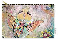 Joyful Koi I Carry-all Pouch by Shadia Derbyshire